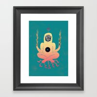 Medita Framed Art Print