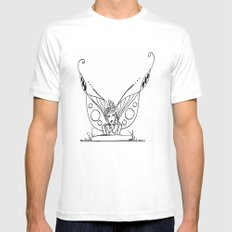 Daydreaming  SMALL White Mens Fitted Tee