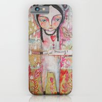 iPhone & iPod Case featuring you are amazing by Atelier Susana Tavares