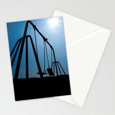 Abandoned Swing Set Stationery Cards