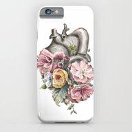 Floral Anatomy Heart iPhone 6 Slim Case