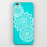 The blue mandalas iPhone & iPod Skin