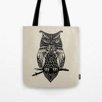 Owl of Cairo Tote Bag