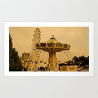 A Day At The Fair Art Print