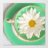Mint Tea Canvas Print