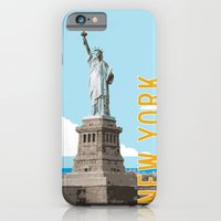 New York Travel Poster iPhone 6 Slim Case