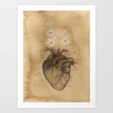 PHILOSOPHY OF HEART Vint… Art Print