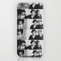 One Direction - Louis Tomlinson, Harry Styles, and Niall Horan - B&W iPhone 6 Slim Case