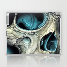 fin skull Laptop & iPad Skin