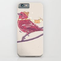 iPhone & iPod Case featuring Winter Finch by mattdunne