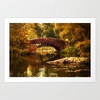 The Gapstow Bridge Art Print