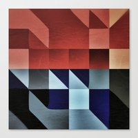 :: geometric maze IX :: Canvas Print