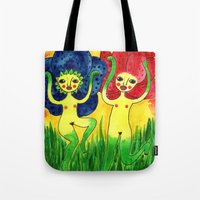 wild flowers in bloom Tote Bag
