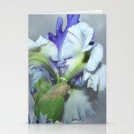 Iris (Rainy Day) Stationery Cards