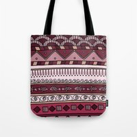 Yzor Pattern 004 Lilac Tote Bag