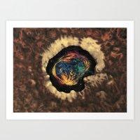 Kosmisch Art Print