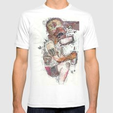 Knock Out Mens Fitted Tee White SMALL