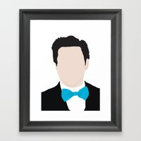 RDJ / IRONMAN Framed Art Print