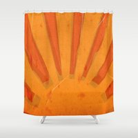 Sun Rise Shower Curtain