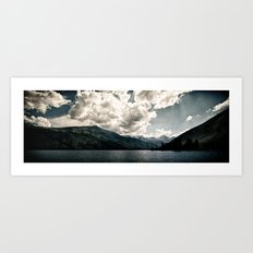 Lower Twin Lake (Color) Art Print