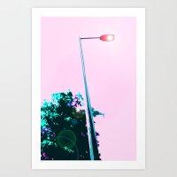 Lamppost Art Print