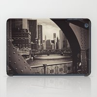 Up The Chicago River iPad Case