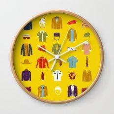 W.A Luggage Wall Clock