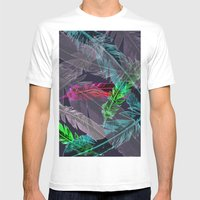 Wing Mens Fitted Tee White SMALL