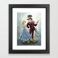 Costume Switch Framed Art Print