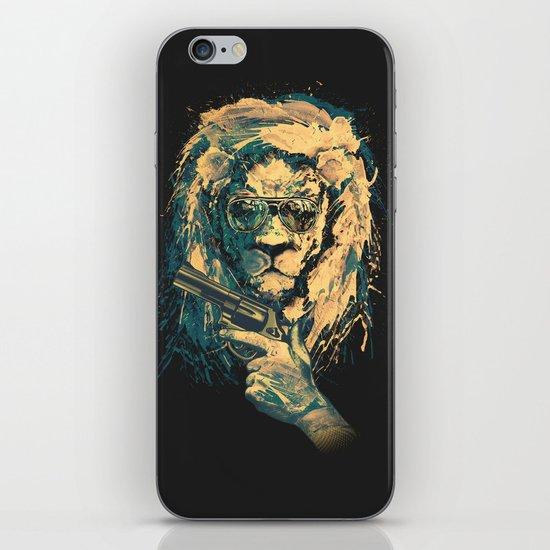 Lion is always Cool iPhone & iPod Skin