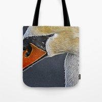 Fractalius Swan Tote Bag