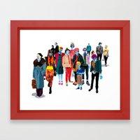 Pandilla Framed Art Print