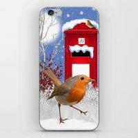 Winter Robin IPhone Case… iPhone & iPod Skin