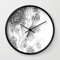 the floating fantasy Wall Clock