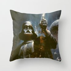 Darth Vader Vintage Throw Pillow