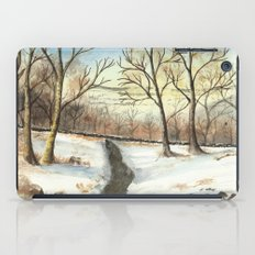 Snowy Forest iPad Case