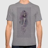 Innocuous Mens Fitted Tee Athletic Grey SMALL