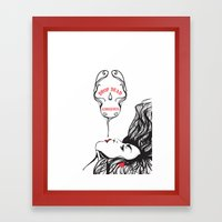 drop dead gorgeous Framed Art Print