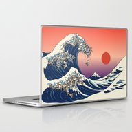 Laptop & iPad Skin featuring The Great Wave Of Englis… by Huebucket