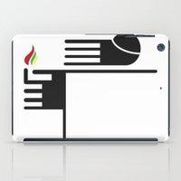 Feuer Auf Der Spitze iPad Case