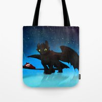 Toothless Tote Bag