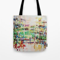 ABSTRACTION Island Tote Bag