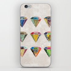 Diamonds Collage iPhone & iPod Skin