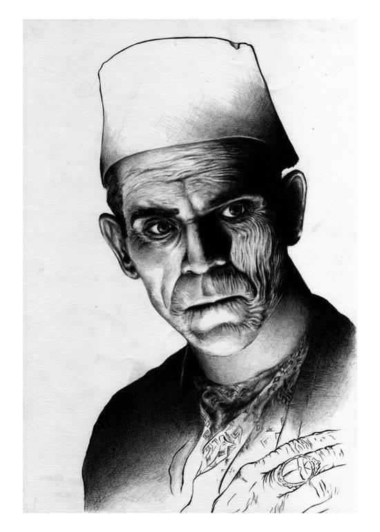 Karloff Art Print
