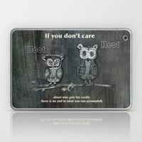 Two Hoots Laptop & iPad Skin