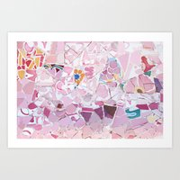 Tiling With Pattern 5 Art Print