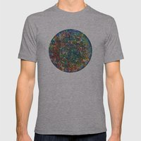 Planet Phoenix - Gouache… Mens Fitted Tee Athletic Grey SMALL