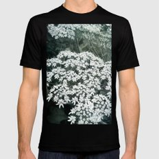 Lace Mens Fitted Tee Black SMALL