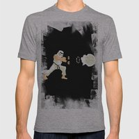 Haduken stormtrooper Mens Fitted Tee Athletic Grey SMALL