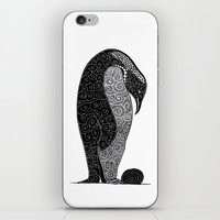 Penguin and Her Pretty iPhone & iPod Skin